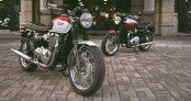 Triumph Bonneville T100 và T120 Bud Ekins đầu tiên tại Việt Nam