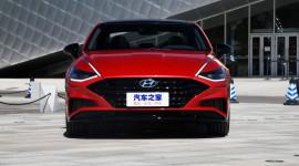 Hyundai Sonata 2020 trục cơ sở dài lộ diện, sang trọng và hiện đại hơn