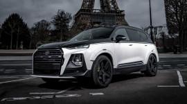 Hyundai Santa Fe bản độ cực ngầu không khác gì siêu SUV Audi RSQ8