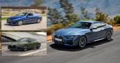 So sánh BMW 4 Series 2021 với Mercedes-Benz C-Class và Audi A5