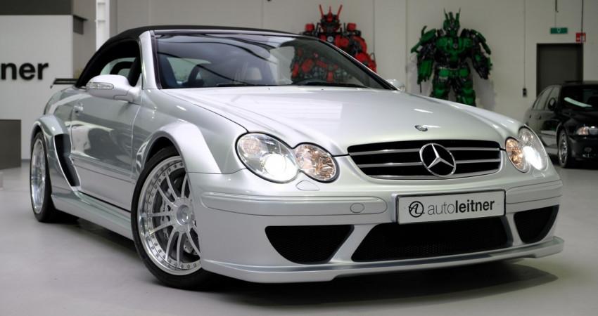 Hàng hiếm Mercedes CLK DTM AMG Cabrio 2006 chào bán giá 335.000 USD