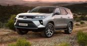 Rò rỉ thông số kỹ thuật Toyota Fortuner 2021 trước giờ ra mắt
