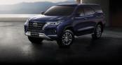 Toyota Fortuner 2021 ra mắt: Thiết kế thể thao, động cơ mạnh mẽ