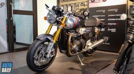 Cận cảnh Triumph Thruxton RS 2020 có giá hơn 600 triệu đồng tại VN