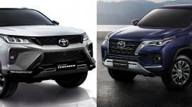 Video so sánh Toyota Fortuner 2021 với  Fortuner Legender