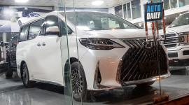MPV hạng sang Lexus LM 300h 2020 đầu tiên về Việt Nam