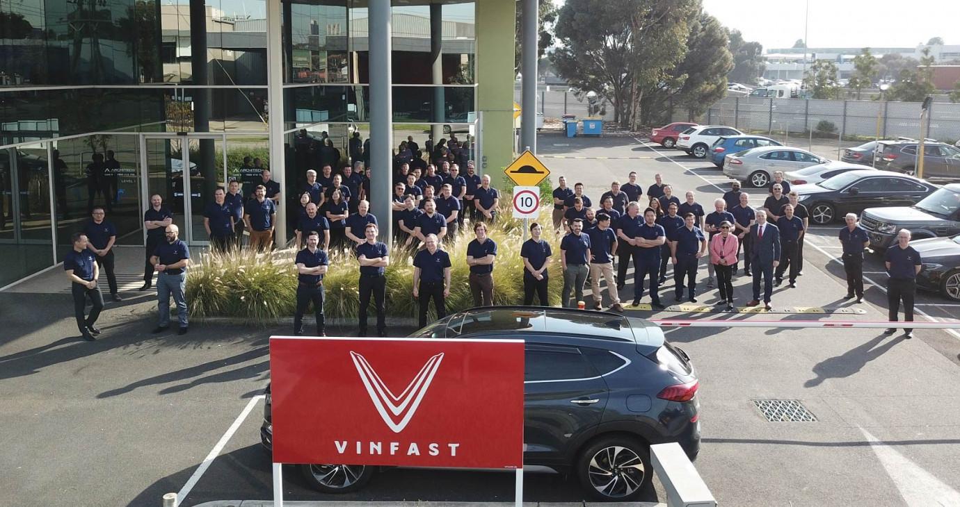 VinFast bắt đầu hành trình tiến ra thế giới