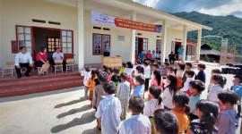 Quỹ Toyota Việt Nam hỗ trợ xây dựng điểm trường cho trẻ em vùng cao