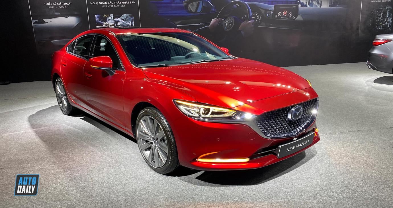 Những điểm mới đáng khen trên New Mazda 6 2020 vừa ra mắt tại Việt Nam