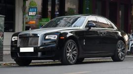 Diện kiến Rolls-Royce Ghost 2019 độc nhất Việt Nam