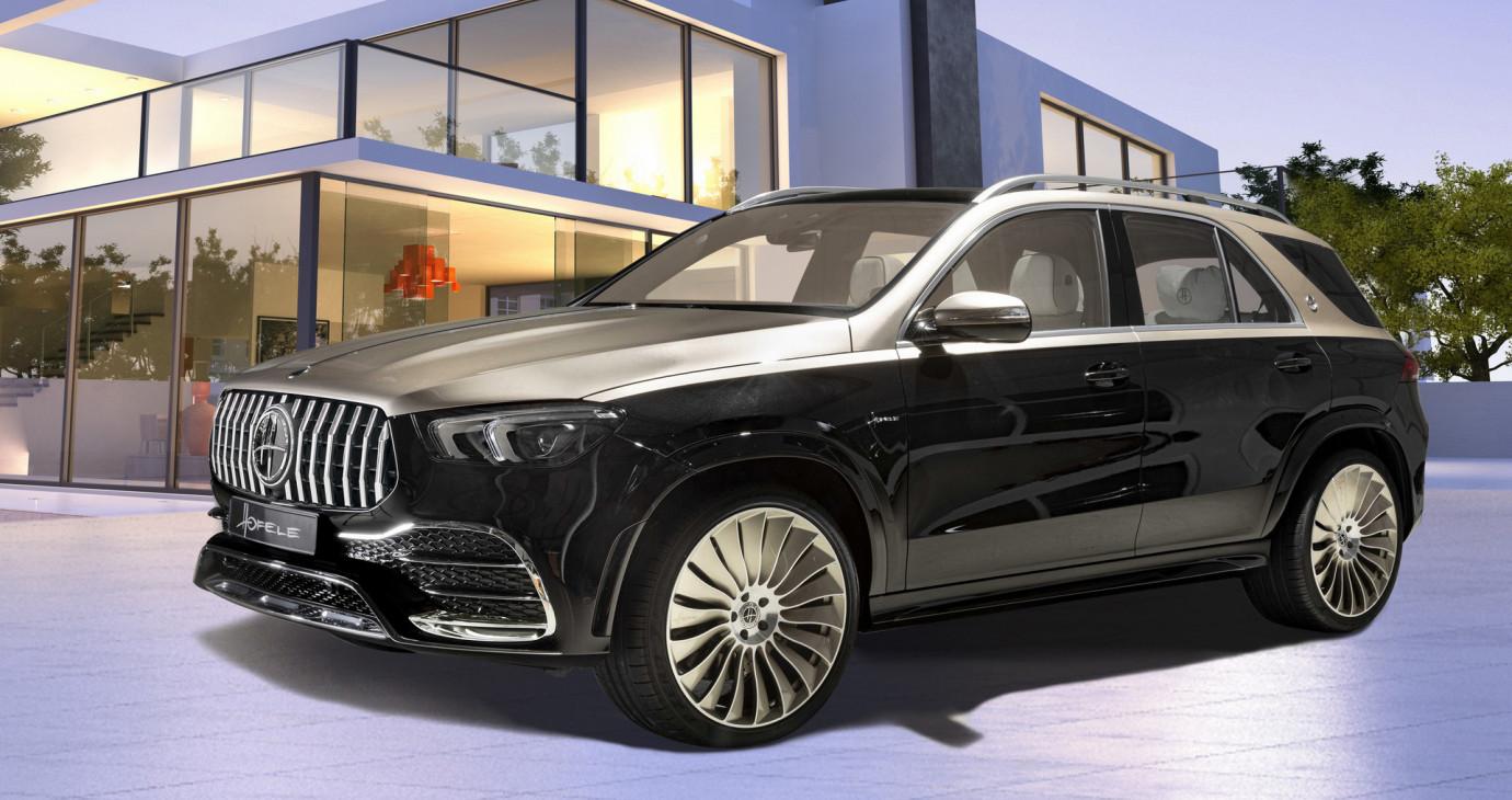 Mercedes-Benz GLE bản độ Hofele sang xịn như Maybach