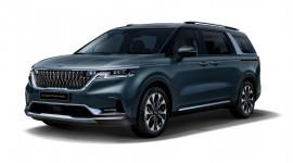 Kia Sedona 2021 chính thức lộ diện: Đẹp hơn, rộng rãi hơn