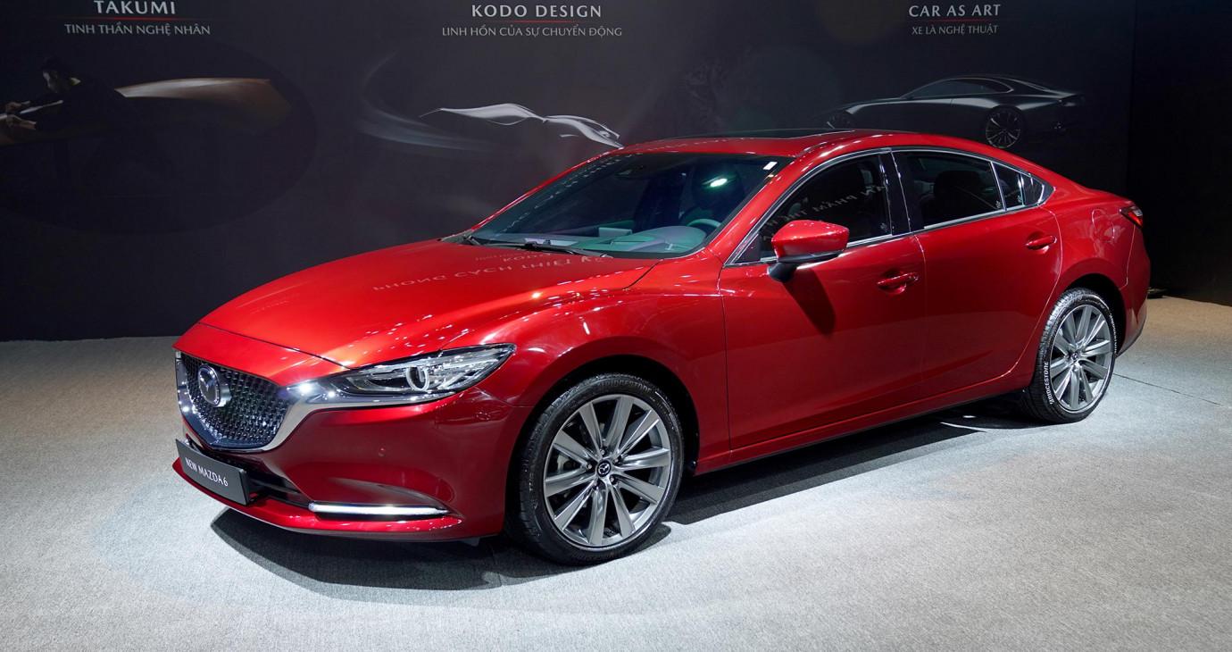 New Mazda6 chốt giá từ 889 triệu