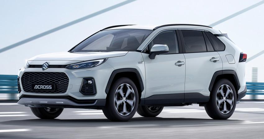 Suzuki Across 2021 ra mắt, anh em sinh đôi của Toyota RAV4