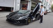 Diện kiến Lamborghini Aventador S gần 40 tỷ vừa về Việt Nam