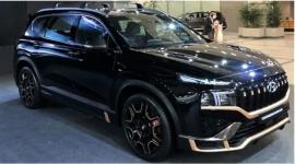 Hyundai Santa Fe 2021 hầm hố hơn với gói trang bị N Performance Kit
