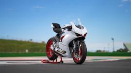Chiêm ngưỡng vẻ đẹp của Ducati Panigale V2 màu trắng White Rosso