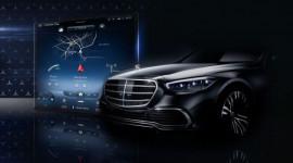 Mercedes nhá hàng nội thất S-Class 2021 với màn hình 'siêu to khổng lồ'