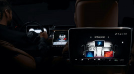 Nội thất hiện đại của Mercedes S-Class 2021 với 5 màn hình cỡ lớn