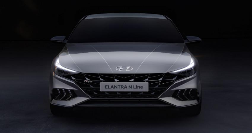 Hyundai Elantra N Line 2021 lộ diện với phong cách cực ngầu