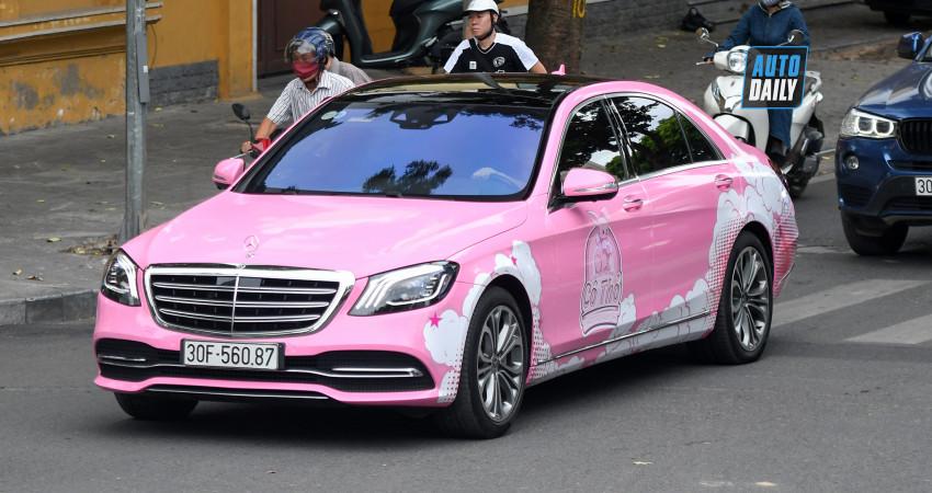 Mercedes-Benz S450 L Luxury nhà Tuấn Hưng đổi màu độc đáo