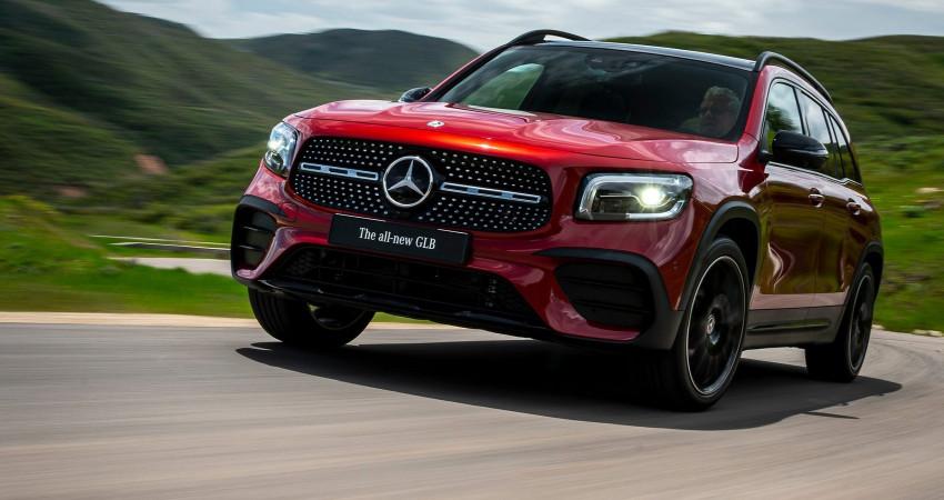 Mercedes-Benz GLB 2020 ra mắt tại Thái Lan, giá từ 91.300 USD
