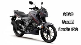 Suzuki Bandit 150 2020 thêm bộ áo mới ngầu hơn