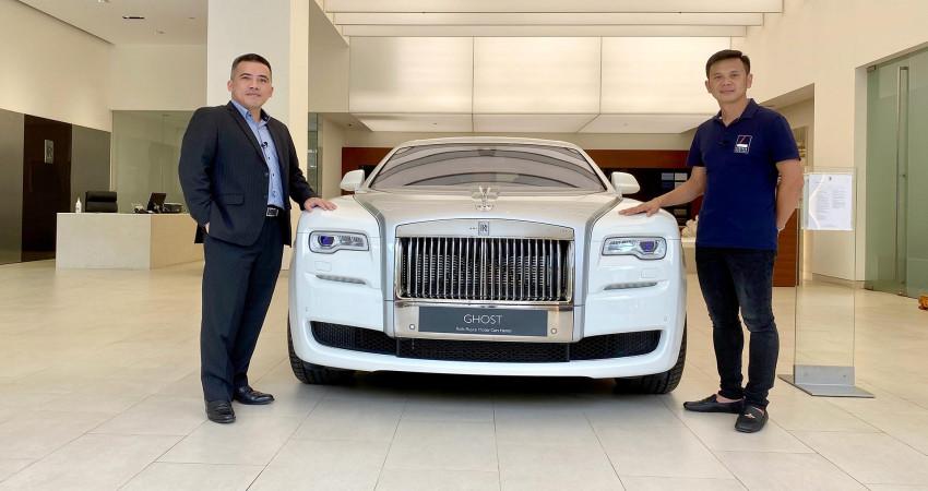 ĐỘT NHẬP showroom Rolls-Royce tại Việt Nam