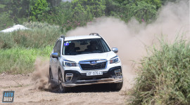 Thử thách giới hạn Off-road cùng Subaru Forester 2020