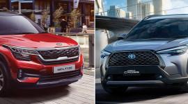 So sánh Toyota Corolla Cross 2021 và Kia Seltos 2020: Chọn SUV Nhật hay Hàn?