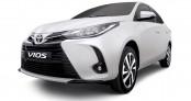 Toyota Vios 2021 trang bị đèn pha LED ra mắt