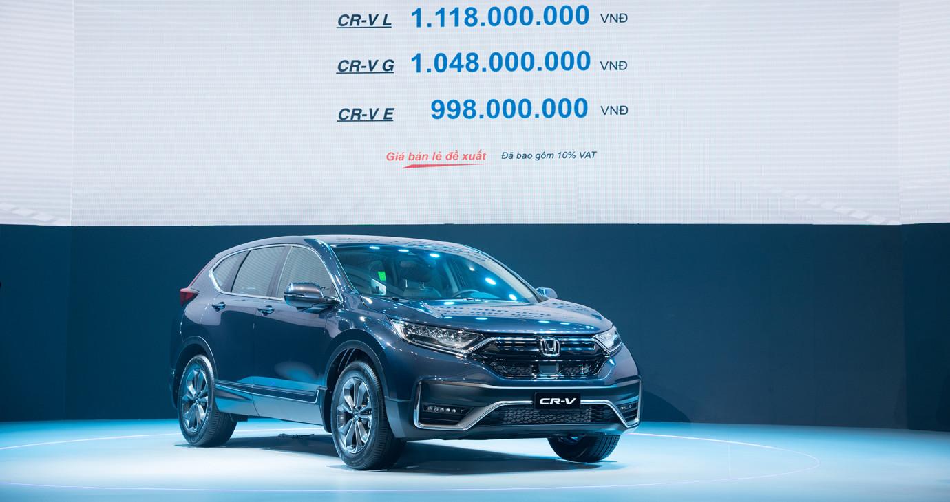 """""""Hàng nóng"""" Honda CR-V 2020 chốt giá từ 998 triệu, GIẬT MÌNH với cả tá công nghệ XỊN SÒ"""