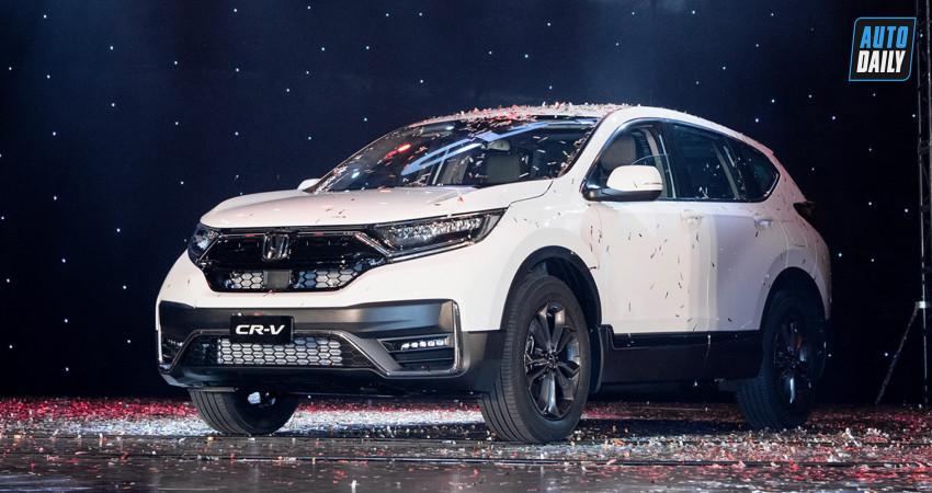 Honda CRV 2020 chính thức ra mắt tại Việt Nam, giá từ 998 triệu