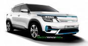 Xem trước thiết kế Kia Seltos EV, dự kiến ra mắt cuối năm nay
