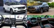 So sánh giá lăn bánh của Toyota Corolla Cross và Kia Seltos