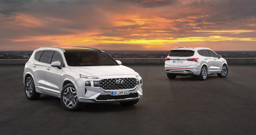 Hyundai Santa Fe 2021 nhận được những nâng cấp quan trọng tại Mỹ