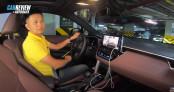 Thử hệ thống camera 360 trên Toyota Corolla Cross