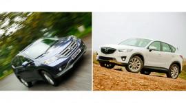 Hơn 1 tỷ đồng, nên mua Honda CR-V hay Mazda CX-5