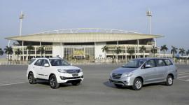 Toyota Việt Nam giới thiệu Innova và Fortuner mới