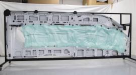 Túi khí ô tô dài gần 5 mét
