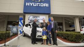 Hyundai Tucson Fuel Cell 2015 đầu tiên đến tay khách hàng