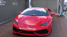 """""""Cơn bão"""" Lamborghini Huracan đến Anh"""