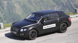 Bentley SUV lộ diện trên đường thử