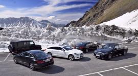 Hành trình vượt dãy Alps trên 5 chiếc xe Mercedes-Benz