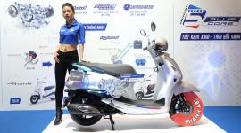 Yamaha Motor VN kỷ niệm 5 năm động cơ Blue Core và phượt qua 5 nước ĐNÁ