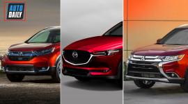 Dưới 1 tỷ đồng, chọn Misubishi Outlander, Honda CR-V hay Mazda CX-5?