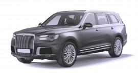 Xem trước thiết kế mẫu SUV mới của công ty sản xuất xe cho Tổng thống Nga