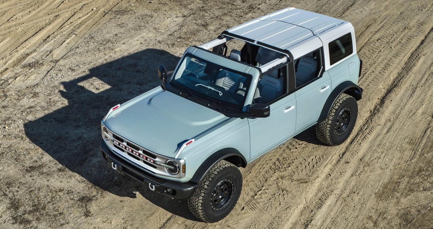 Test độ bền Ford Bronco 2021 CỰC PHŨ