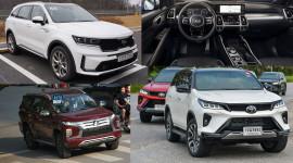Bộ 3 SUV 7 chỗ dự kiến ra mắt tại Việt Nam trong tháng 9
