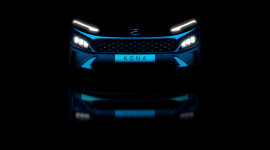Hyundai Kona bản nâng cấp nhá hàng trước ngày ra mắt chính thức